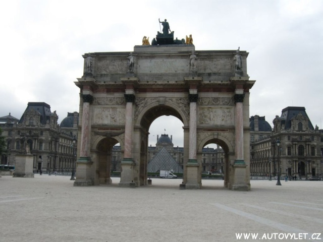 Paříž Francie 3