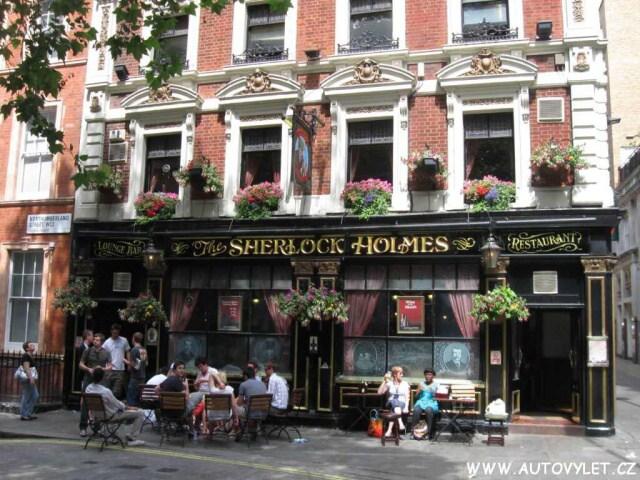 Sherlock Holmes restaurace