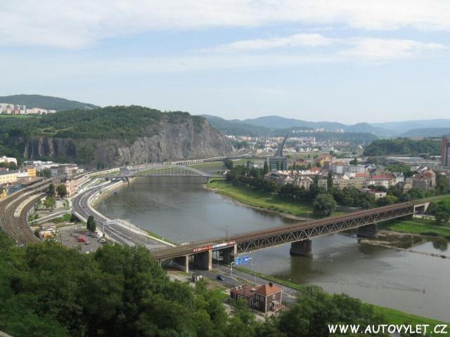 Ústí nad Labem z Větruše