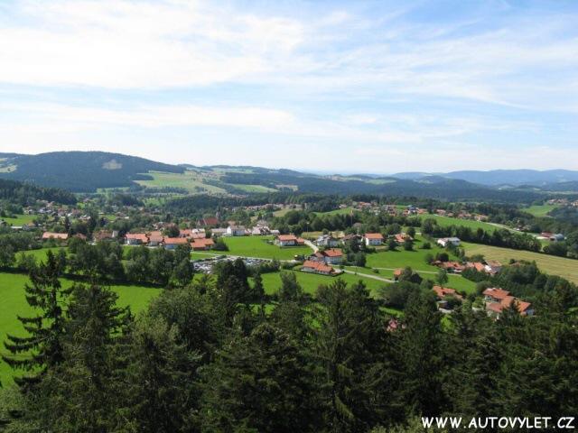 Výhled - Stezka v korunách stromů Německo
