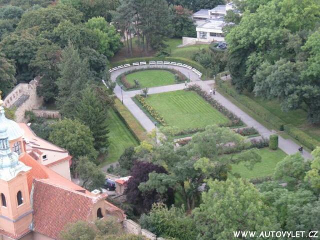 Zahrady na Petříně v Praze