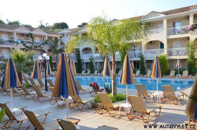 Hotel Admiral Tsilivi Zakynthos Řecko