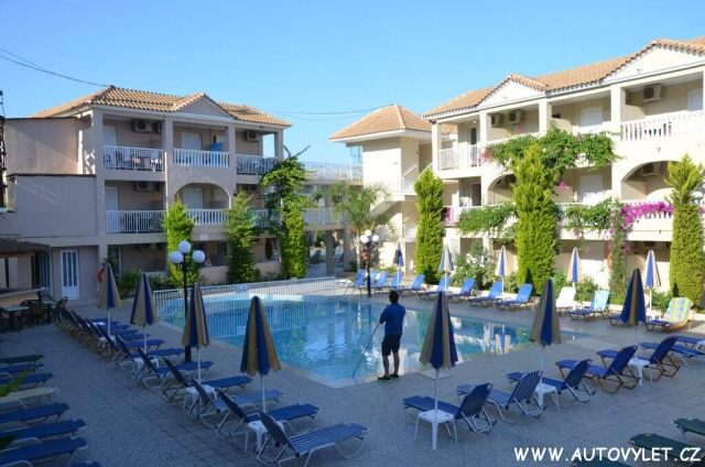 Hotel Admiral Tsilivi Zakynthos Řecko 12