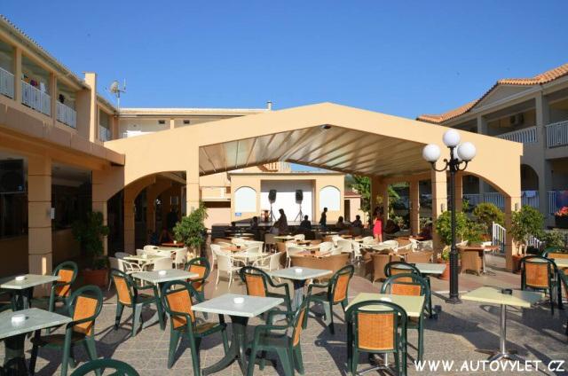 Hotel Admiral Tsilivi Zakynthos Řecko 13