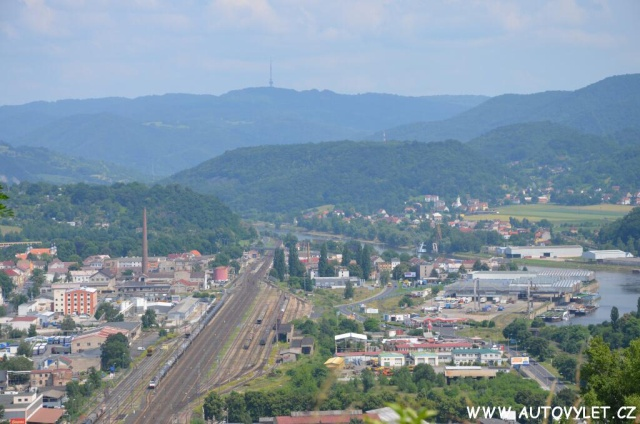 Mariánská skála v Ústí nad Labem 17