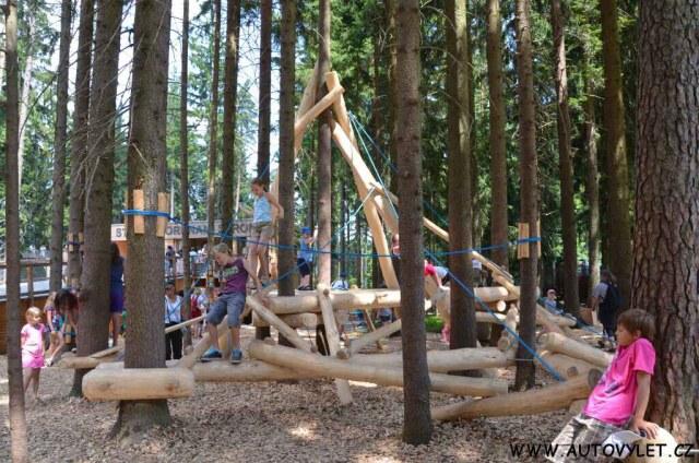 Stezka korunami stromů Lipno 9