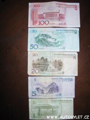Čínská měna 2