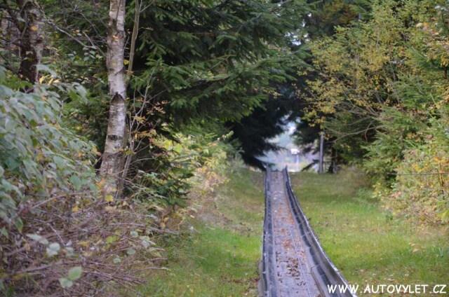 Altenberg bobová dráha Německo 14