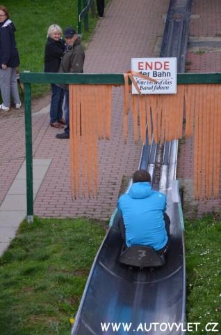 Altenberg bobová dráha Německo 16