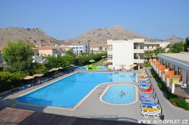 Hotel Delfinia Rhodos Řecko 23
