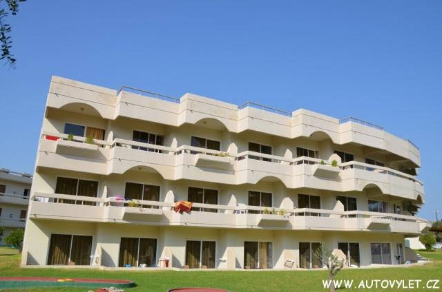 Hotel Delfinia Rhodos Řecko 25