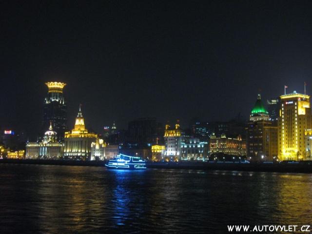 Čína v noci