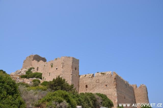 Hrad Kritinia - Rhodos Řecko