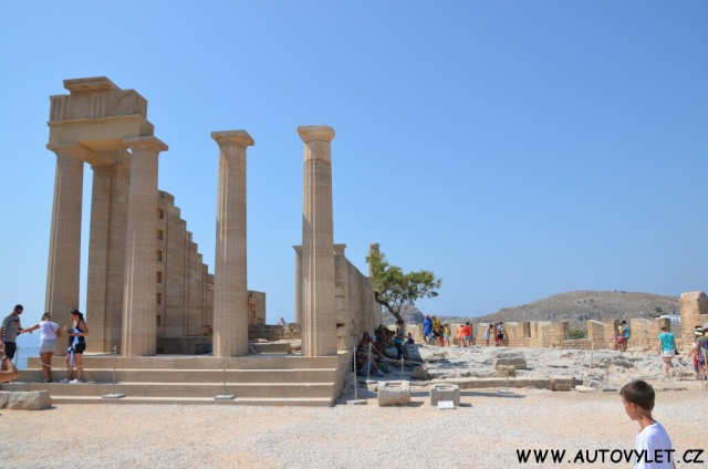 Hrad Lindos - Rhodos Řecko 2