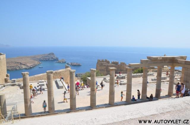 Hrad Lindos - Rhodos Řecko 3