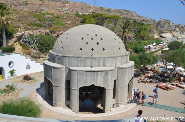 Lázně Kalithea - Faliraki Řecko Rhodos 2