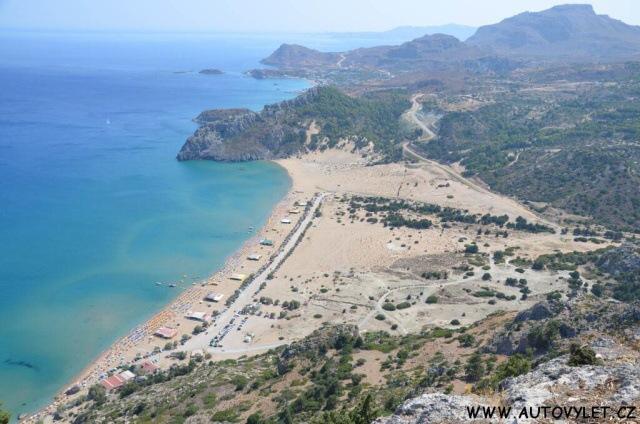 Pláž Tsambika - Řecko Rhodos 2