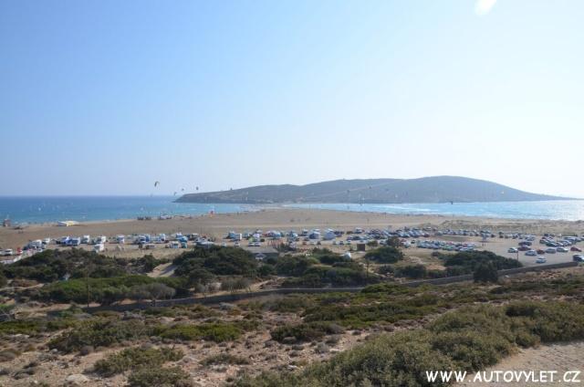 Prasonisi pláž Rhodos Řecko