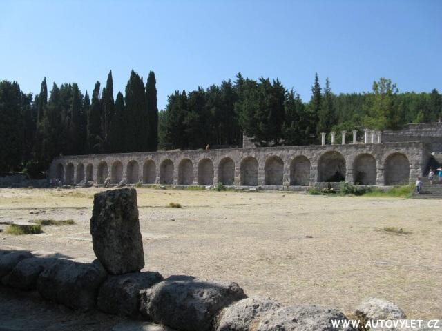 Asklepion Řecko Kos 23