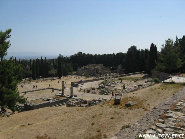 Asklepion Řecko Kos 28