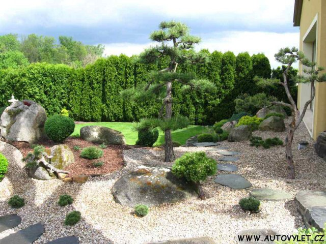 Japonská zahrada Písty 7