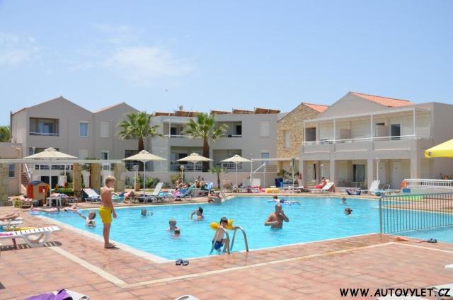 Bazén - Kostakis beach - Kréta Řecko