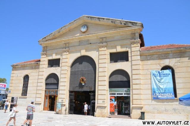 Tržnice - Chania Řecko Kréta