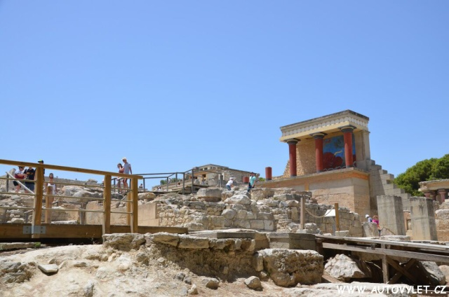 Knossos Řecko Kréta