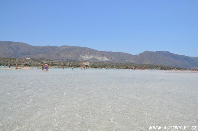 Pláž Elafonissi - Kréta Řecko 1