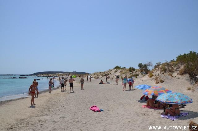 Pláž Elafonissi - Kréta Řecko 2