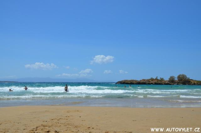 Pláž Kréta Řecko