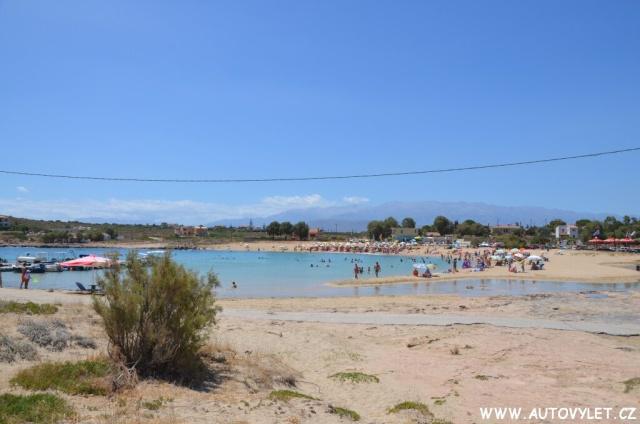 Pláž Stavros Kréta Řecko