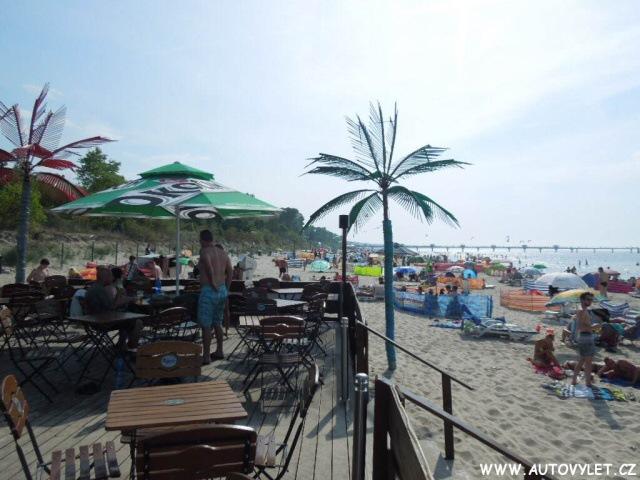 Pláž u polského Baltu