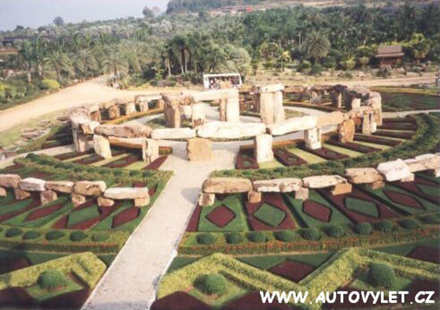 Tropická zahrada Thajsko