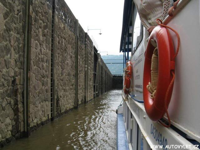 Plavba lodí do Děčína