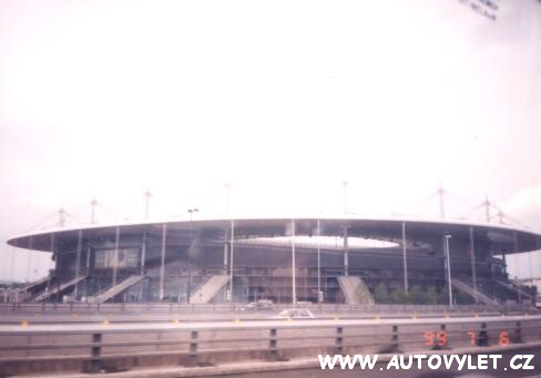 Paris st. Germain fotbalový stadion