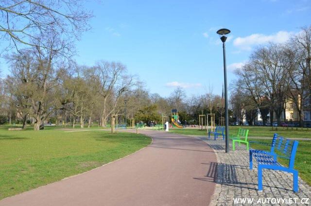 Park Litoměřice - Jiráskovy sady 14
