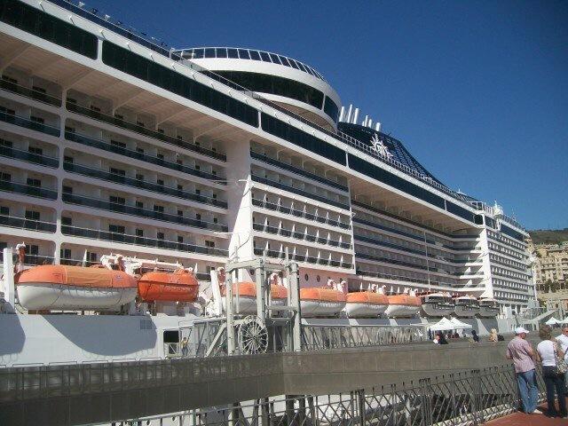Výletní loď Msc Splendida 3