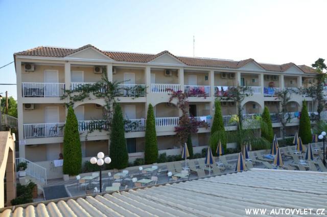 Hotel Admiral v Tsilivi na řeckém Zakynthos 3