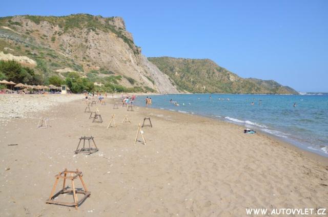Pláž Dafni Zakynthos Řecko 12