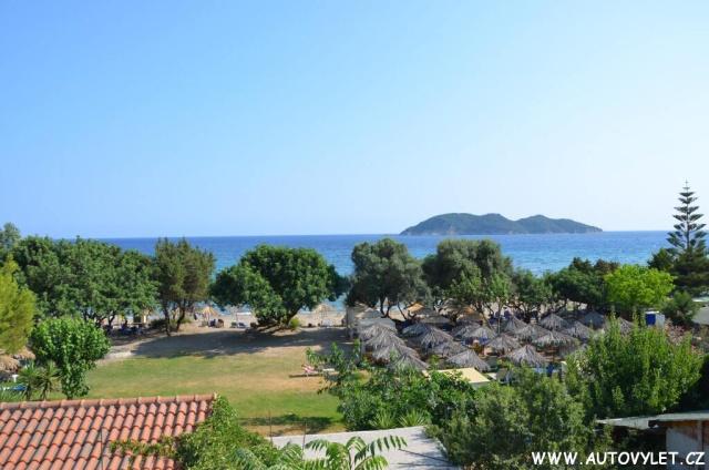 Pláž Dafni Zakynthos Řecko 24