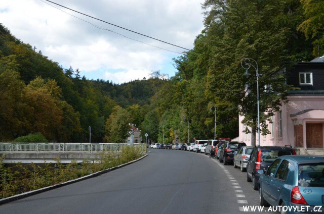 Parkování - Rozhledna Diana Karlovy Vary 1
