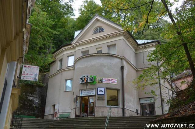 Lanovka - Rozhledna Diana Karlovy Vary