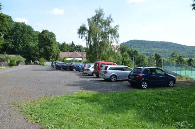 Milešovka parkování