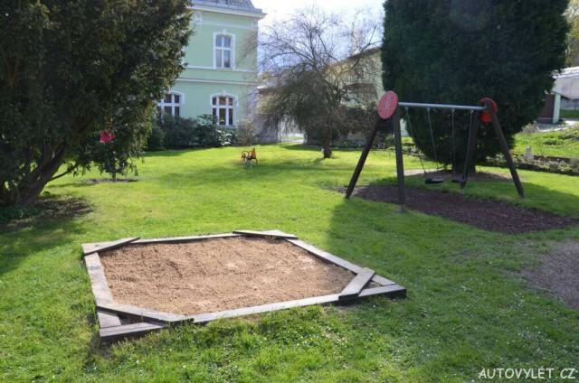 Dětské hřiště - Botanická zahrada Teplice