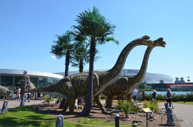 Dinopark Praha - Galerie Harfa 6