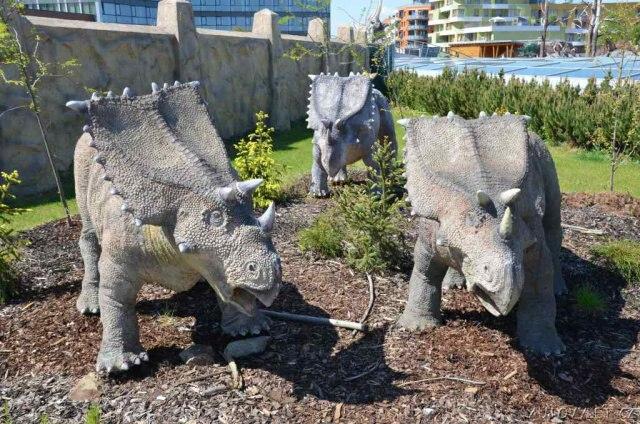 Dinopark Praha - Galerie Harfa 7