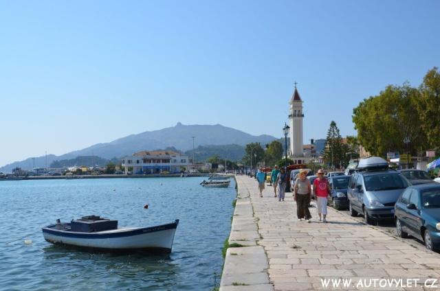 Město Zakynthos Řecko 4