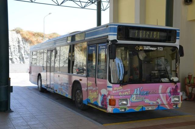 Řecko Zakynthos autobus 2