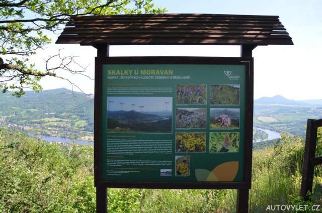 Vyhlídka Skalky u Moravan 8